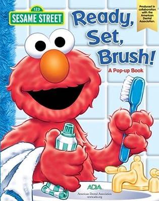 Sesame Street Ready Set Brush A Pop-up Book by Reader's Digest