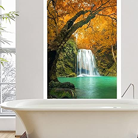 Waterfall Orange Trees Wall Mural Thailand Photo Wallpaper Bedroom Home  Decor Available In 8 Sizes X