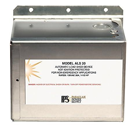 Paralaje fuente de alimentación (als20) cobertizo de la carga automático dispositivo: Amazon.es: Coche y moto