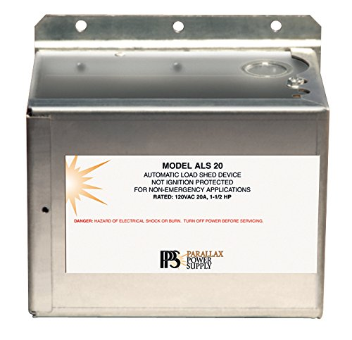 Parallax Power Supply (ALS20 Automatic Load Shed Device