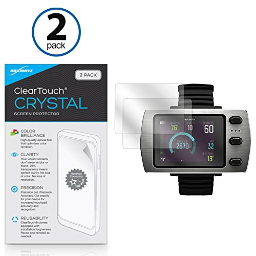 suunto-eon-steel-screen-protector-boxwave-cleartouch-crystal-2-pack-hd-film-skin-shields-from-scratc