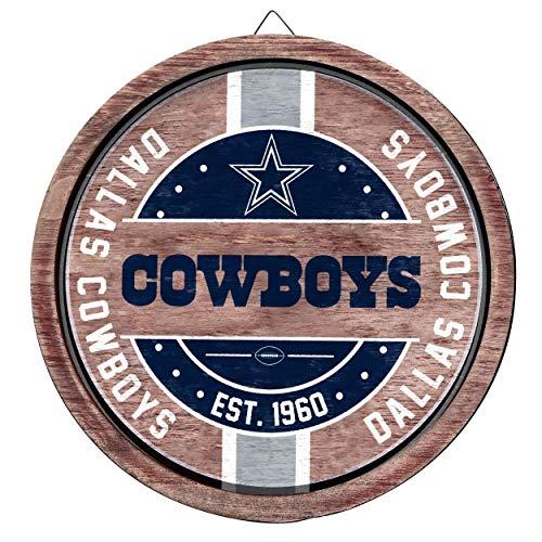 FOCO NFL Team Logo Wooden Barrel Sign, One Size
