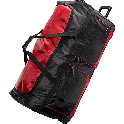 geoffrey-beene-36-inch-duffel-wheeler-black-red-one-size