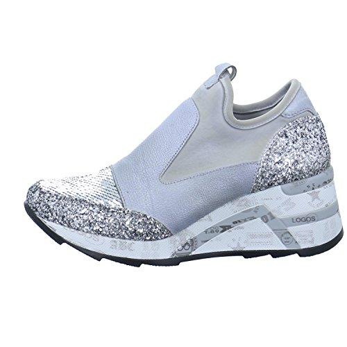 Cetti Damen Keil-sneaker C1121 Grau