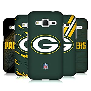 Official NFL Green Bay Packers Logo Hard Back Case for Samsung Galaxy Core Prime by Head Case Designs