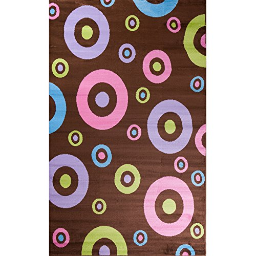 Alisa Dots (Concord Global Alisa DOTS IN DOTS BROWN 3'4