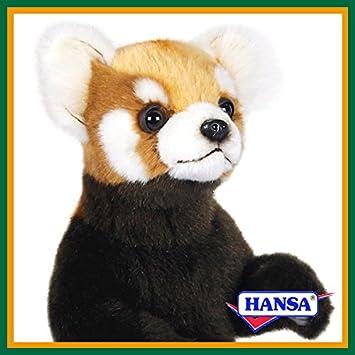 HANSA ハンサ ぬいぐるみ 7252 レッサーパンダ 37 RED PANDA STANDING