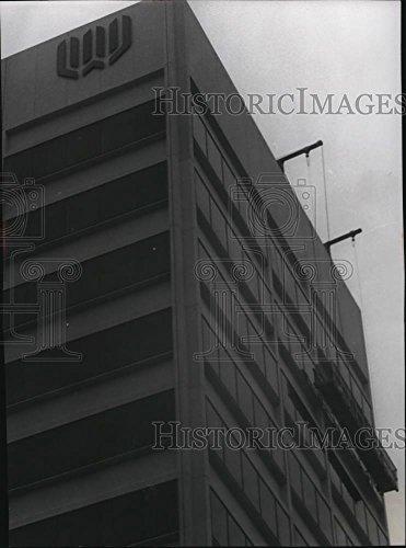 1973 Press Photo Washington Mutual Saving Bank Building - (Mutual Building)