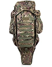 60L Outdoor Sports Military Backpack Assault Survival Pack Rucksack Large Tactical Bag for Hunting Shooting Camping Trekking Hiking Traveling