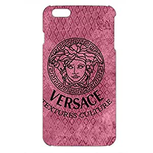 Versace Logo Phone Case for Iphone 6 plus 3D Black Slip On Cover
