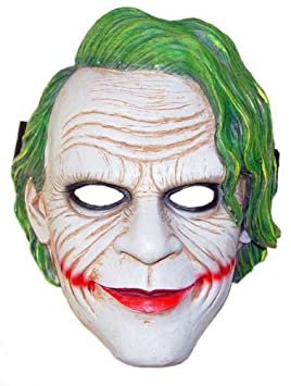 Buy Partysanthe Dark Knight Joker Mask Dark Knight Joker Mask For Adults Super Hero Batman Camouflage Face Mask Cosplay For Party Halloween Theme Party Online At Low Prices In India Amazon In