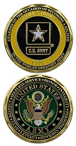U.S. Army Soldier Award Challenge Coin by Eagle Crest