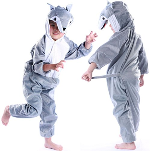 YOWESHOP Children Party Costume Cartoon Animal Costume Funny Clothes Performance Kids Cosplay Costume (XL(height 47.2