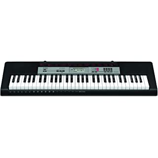 Casio CTK 1550 61 Key Standard Keyboard  Black  Portable Keyboards