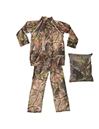Pro Climate Childrens Waterproof Camouflage Rain Suit