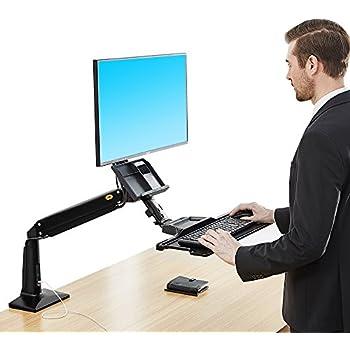 Amazon Com North Bayou Sit Stand Desk Height Adjustable