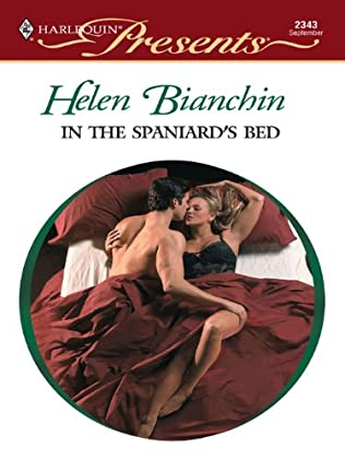 book cover of In the Spaniard\'s Bed