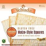 Yehuda Matzi Squares Cinnamon GF 10.5 OZ (Pack of 6)