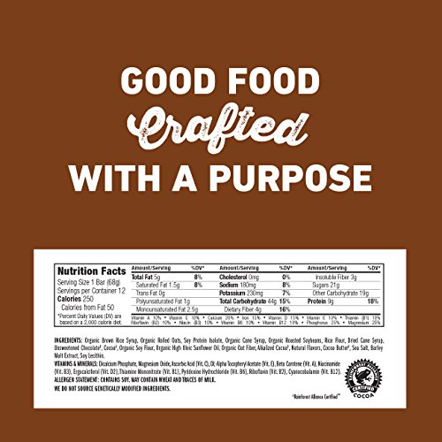 Large Product Image of CLIF BAR - Energy Bar - Chocolate Brownie - (2.4 Ounce Protein Bar, 12 Count)