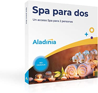 ALADINIA Box Caja Regalo Pack SPA para Dos con Validez Ilimitada | Más de 60 Opciones para Elegir en España: Amazon.es: Deportes y aire libre