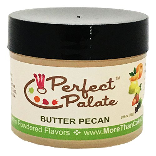 - More Than Cake Perfect Palate Butter Pecan Powdered Flavor 16g
