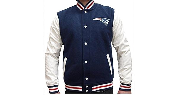 New Era NFL England Patriots College Varsity Jacket Special ...
