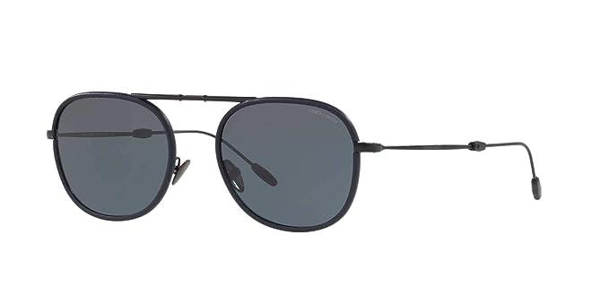 Armani 0AR6064Q 300187 52, Gafas de Sol para Hombre, Negro ...