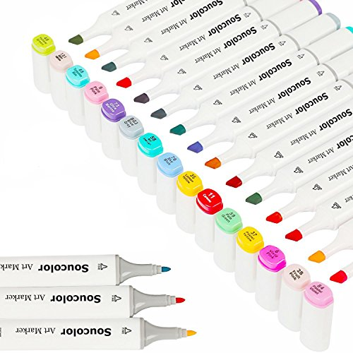 Soucolor Highlighters Coloring Painting Illustration