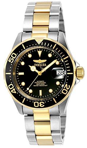 Invicta Men's 8927 Pro Diver Collection Automatic Watch, Gold-Tone/Black by Invicta