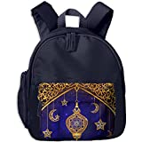 Ramadan Islam Religion Muslim Holiday Lamp Children Mini Backpack Pocket Zipper Outdoor Jansport Travel School Book Bag