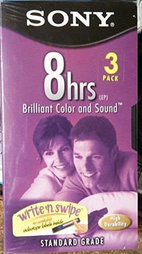 (Sony T-160vl/wa Video Cassette (3 Pack))