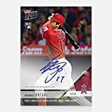 2018 SHOHEI OHTANI SIGNED 1st CAREER HR IN ANGELS HOME DEBUT TOPPS NOW CARD 32A - Baseball Slabbed Autographed Cards