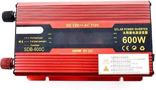 2000W Portable Car LED Power Inverter WATT DC 12V  to AC 110V Charger Converter