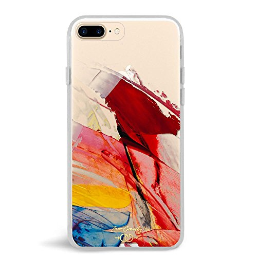 - Zero Gravity Case Compatible with iPhone 7 Plus/8 Plus - Abstract - Smudged Paint - 360° Protection, Drop Test Approved