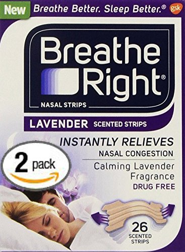 Breathe Right LAVENDER SCENTED Lavender product image