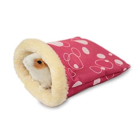 Auoker Hamster - Saco de dormir super cálido para hámster, impermeable, resistente al viento