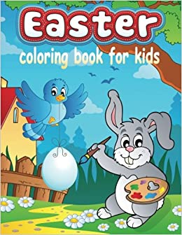 Easter Coloring Book For Kids Childrens Books Colouring Volume 13 Neil Masters 9781519737397 Amazon