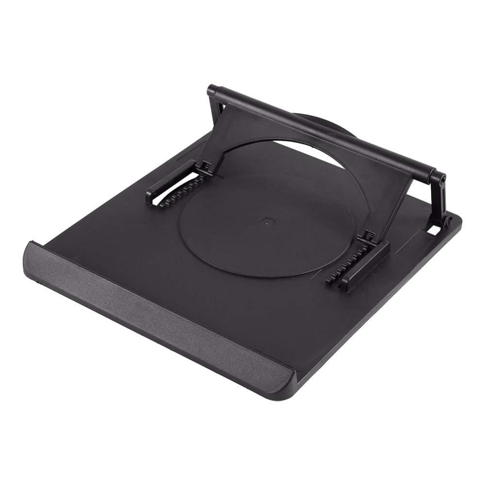 DHmart Adjustable Cooling Cooler Table Fan Stand Holder Notebook Laptop Universal Laptop Cooler Fan Holder Pad Notebook Stand by DHmart (Image #2)
