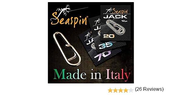 Seaspin Conectores Acero/Titanio Jack: Amazon.es: Deportes y aire ...