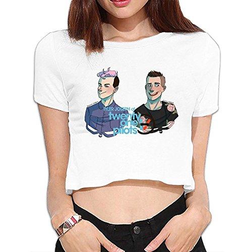 Tyler Joseph Crop Top Short Sleeve T Shirt Sleeve Shirt Sweatshirt Easeful Girls