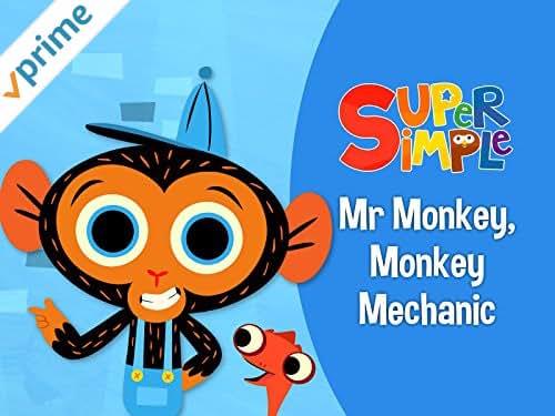 Mr. Monkey, Monkey Mechanic - Super Simple