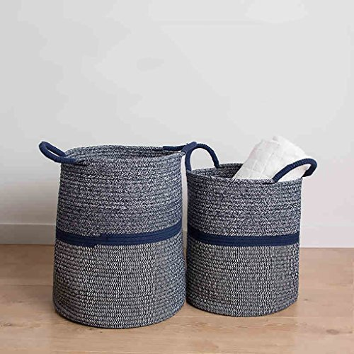 WPSNL Laundry Basket Cotton Storage Basket Hamper Snack Box Miscellaneous Children's Toy Storage Box (Size : 36cm) by WPSNL (Image #2)