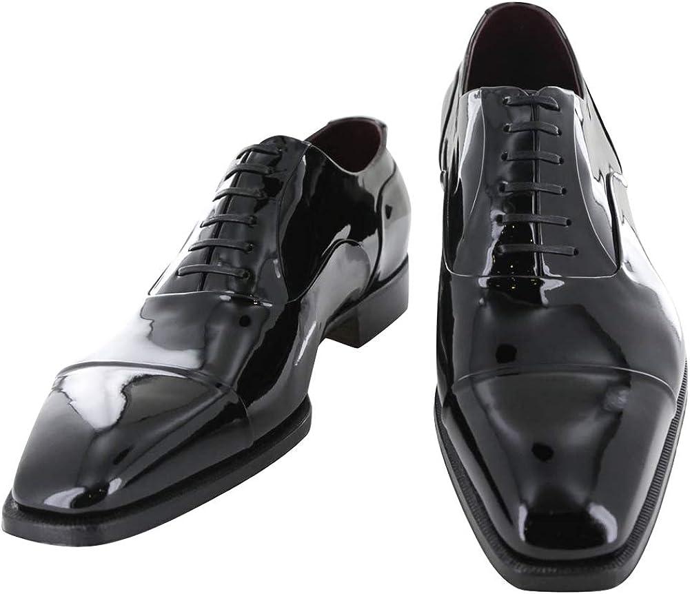 Silvano Lattanzi Black Patent Leather