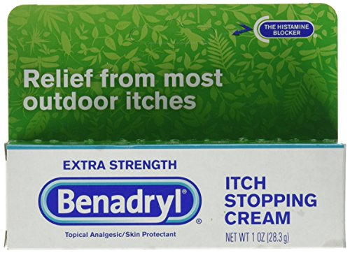 Extra Strength Itch Stopping Cream - Benadryl Topical Itch Stopping Cream, Extra Strength, 1 oz