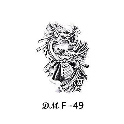 Etiqueta engomada del tatuaje del brazo de la flor Taro Squid Guan ...