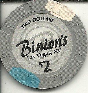 $2 binions horseshoe rare las vegas casino chip vintage