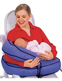 Leachco Natural Boost - Adjustable Nursing Pillow - Denim BOBEBE Online Baby Store From New York to Miami and Los Angeles