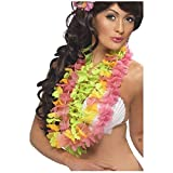 Hawaiian Lei 3-Pack Flower Necklaces Costume Accessory