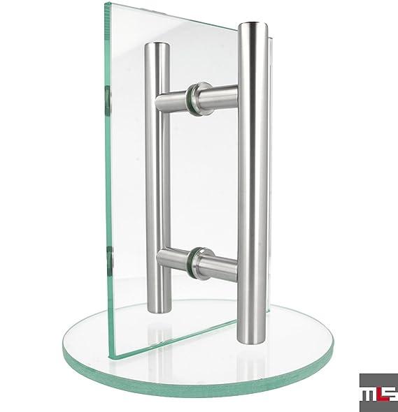 Typ 4 - Einzelgriff f/ür Holzt/üren, L/änge: 180cm MLS Edelstahl T/ürgriff SerieMilano.06 30-150cm Sto/ßgriff Stangengriff verschiedene Anbindungen
