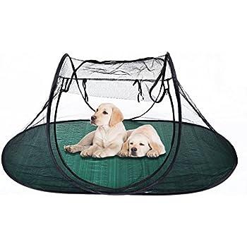 Pet Fun House Cat Dog Playpen Portable Exercise Tent with Carry Bag 189x90x78cm(74.4   sc 1 st  Amazon.com & Amazon.com : Strong Camel Pet Fun House Cat Dog Playpen Feline ...